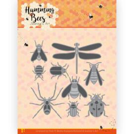 JAD10127 Snij- en embosmal  - Humming Bees - Jeanines Art