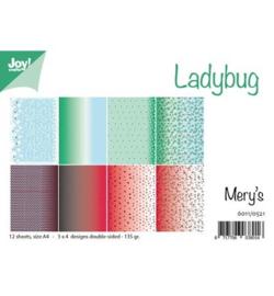 6011/0521 Paperbloc A4 a 12 vel - Ladybug - Joy Crafts