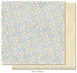 592 Scrappapier dubbelzijdig - Vintage Spring - Maja Design