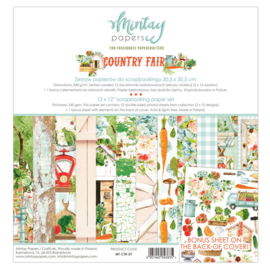 Mintay Papers - Country Fair - Paperpad 30.5 x 30.5 cm - MT-CTR-07 - PAKKETPOST!