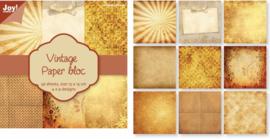 6011/0101 Paperpad 15x15cm a 36 vel - Joy Crafts