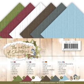 PMA510015 Karton 14.8x21cm  - The Nature Christmas - Marieke Design