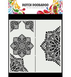 470.784.001 - Mask Art Slimline Mandala - Dutch Doobadoo