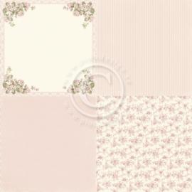 PD19002 Scrappapier - Life is Peachy - Pion Design