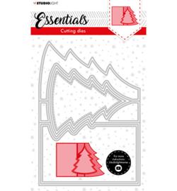 SL-ES-CD70 - SL Cutting Die Christmas Card shape tree Essentials nr.70
