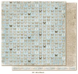 597 Scrappapier dubbelzijdig - Vintage Spring - Maja Design