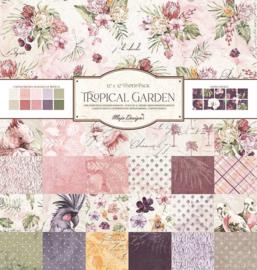 Paperpad 30,5 x 30,5 cm -  Tropcial Garden - Maja Design - PAKKETPOST!