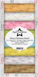 PFS025 Dixi Slimline PaperPack 10x21 cm Merry Christmas Pastel