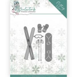 YCD10219 Snij- en embosmal  - Winter Time - Yvonne Creations