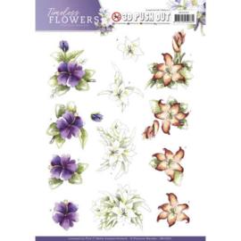 SB10261 Stansvel A4 - Timeless Flowers - Marieke Design