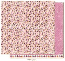 1075 Scrappapier dubbelzijdig - Little Street Café - Maja Design