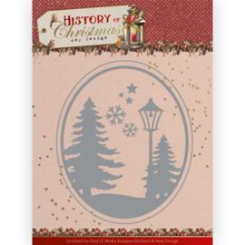 ADD10244 Snij- en embosmal - History of Christmas - Amy Design