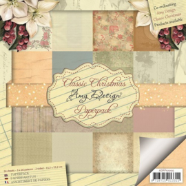 ADPP10005 Paperpad - Classic Christmas - Amy Design