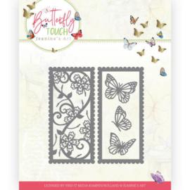 JAD10123 Snij- en embosmal - Butterfly Touch - Jeanine's Art