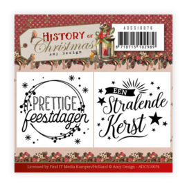 ADCS10076 Clearstempel - History of Christmas - Amy Design