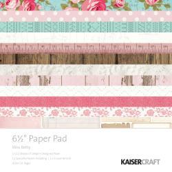 "PP1038 Paperpad 6.5"" x 6.5 "" Miss Betty - Kaisercrafts"