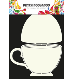 470.713.622 Card Art Stencil A4 - Dutch Doobadoo