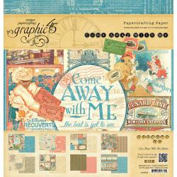 4500924 Paperpad 30.5 x 30.5cm - Come Away With Me  - Graphic45