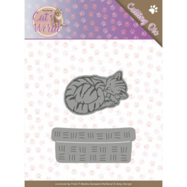ADD10188 Snij- en embosmal - Cats World- Amy Design