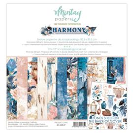 Paperpad 30.5x30.5cm - Harmony - Mintay * PAKKETPOST *
