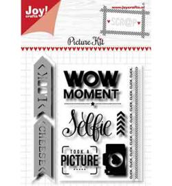 6004-0035 Clearstamp en Snij- en embosmal - Joy Crafts
