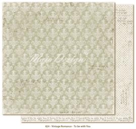 824 Scrappapier dubbelzijdig - Vintage Romance - Maja Design