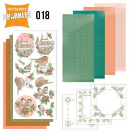 Sparkles set 018 Kerst