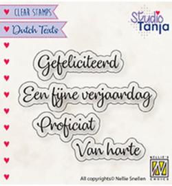 DTCS027 Tekststempel NL - Nellie Snellen