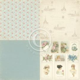 PD5806 Scrappapier - Paris Flea Market - Pion Design