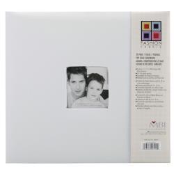 Scrapalbum Wit Fabric - met passepartout - 12 x 12 inch - MBI