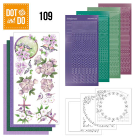 Dot en Do nr. 109 - Condoleance en bloemen/vogels