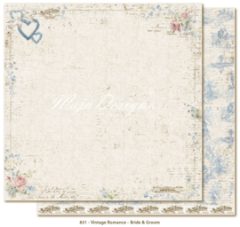 831 Scrappapier dubbelzijdig - Vintage Romance - Maja Design