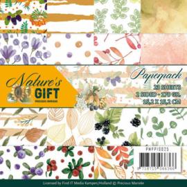PMPP10025 Paperpad - Nature's Gift - Marieke Design