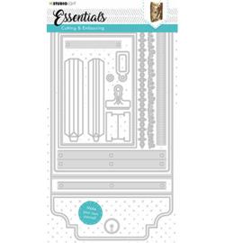 STENCILSL381  Snij- en embosmal - Essentials- Studio Light