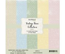 CRP014 Dots 12x12 inch  Paperpack - Reprint  -  PAKKETPOST!!