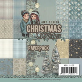 ADPP10023 Paperpad - Christmas Wishes - Amy Design