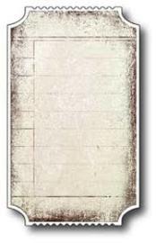 98213 Snij- embosmal - Memorybox