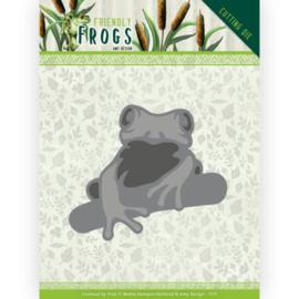 ADD10230 Snij- en embosmal - Friendly Frogs - Amy Design