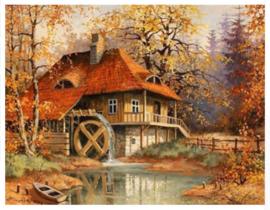 201B. Diamont Painting 30x20cm - Landschap