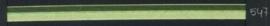 9mm lint Organza/Satijn - Appeltjes groen - 1 meter