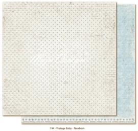 744 Scrappapier dubbelzijdig - Vintage Baby - Maja Design