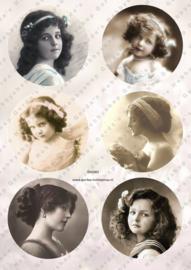 GH3363 Vintage vel - Cirkels Vintage - Gerda's Hobbyshop