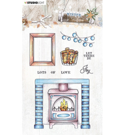 STAMPWC490  Clear stempel - Winter Charm - Studio Light