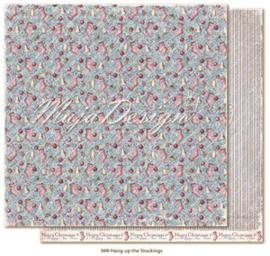 CHRS999 Scrappapier dubbelzijdig - Christmas Seasons - Maja Design