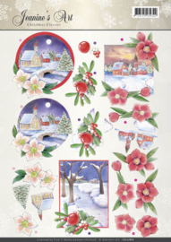 CD10887 Knipvel A4 - Christmas Classic - Jenine's Art