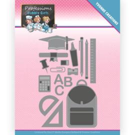 YCD10237 Snij- en embosmal - Bubbly Girls - Yvonne Creations