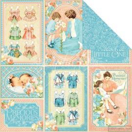 4501090 Scrappapier dubbelzijdig - Precious Memories Collection - Graphic45