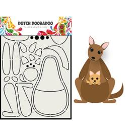 470.713.841 Dutch Card Art A5 Kangaroe - Dutch Doobadoo