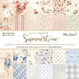 Paperpad 15,2 x 15,2 cm -  Summertime - Maja Design