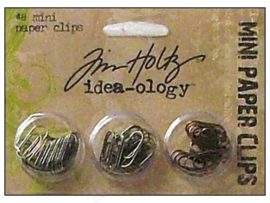 TH92791 Mini Paper Clips - 48 stuks - Tim Holtz